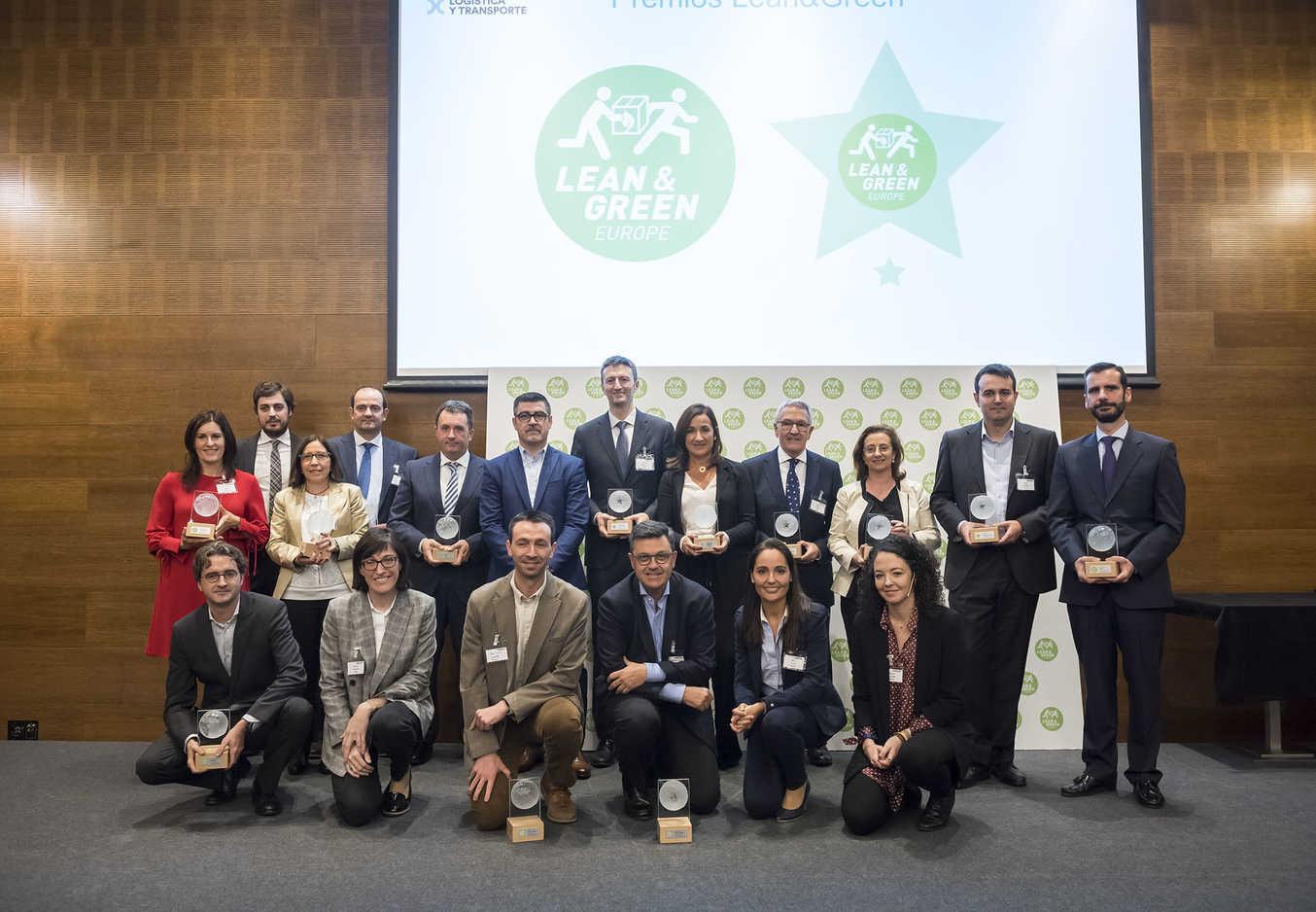 LPR España recibe el premio Lean&Green