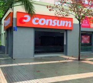 Consum cumple su objetivo para la línea de tiendas propias con nuevas aperturas