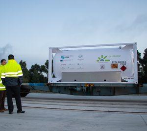 En marcha el primer servicio de transporte multimodal de GNL en España