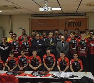 Ferroli, patrocinador oficial del Club balonmano Burgos