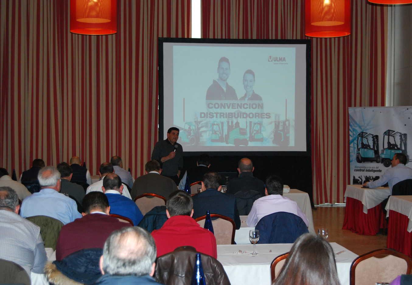 Se desarrolló con gran éxito de asistencia la Convención Anual de Distribuidores de Ulma Carretillas Elevadoras