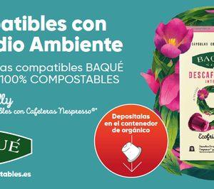 Cafés Baqué presenta sus cápsulas 100% compostables