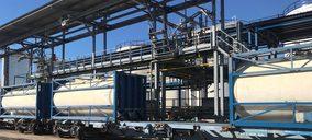 Vopak Terquimsa ya carga trenes en su apeadero de Barcelona