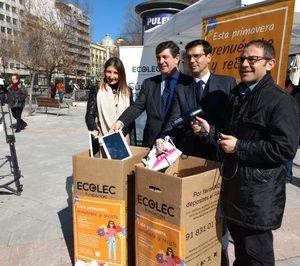 Ecolec recoge 2.107 kilos de RAEE en #GreenWeek18