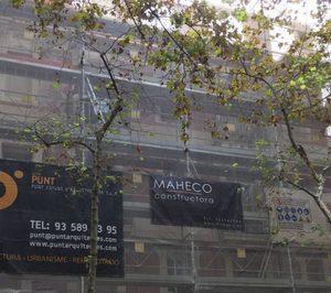 Maheco promueve dos residenciales en Barcelona