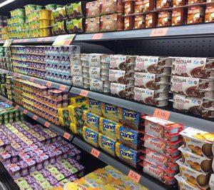 Nuevo operador en el lineal de yogures y postres de Mercadona