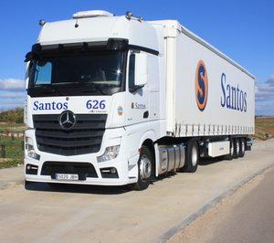 Santos Transportes Europeos vuelve a elevar sus ventas