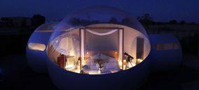 Abre el primer hotel burbuja de Castilla-La Mancha
