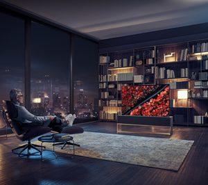 LG presenta un televisor enrollable en CES 2019