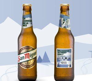 San Miguel lanza una edición especial para estaciones de esquí