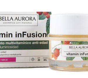 Bella Aurora lanza la nueva línea Vitamin inFusion