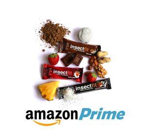 Insectfit vende en Amazon sus barritas de harina de insectos