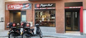 Telepizza reconvierte un local en el primer Pizza Hut tras su acuerdo global