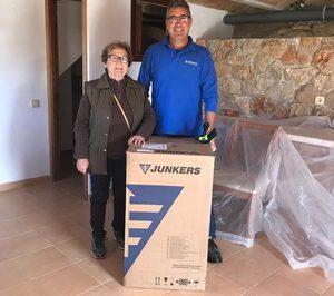 Junkers dona termos eléctricos a los afectados por las riadas de Mallorca