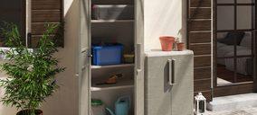 'Keter' presenta una nueva colección de armarios apta para exteriores