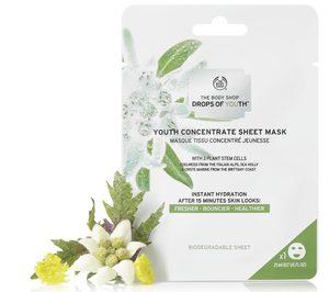The Body Shop ahonda en medioambiente con una mascarilla biodegradable