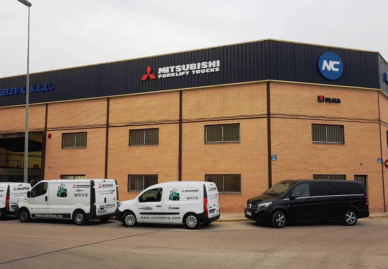 Ontieleva, nuevo distribuidor oficial de Mitsubishi y Hubtex para la provincia de Valencia
