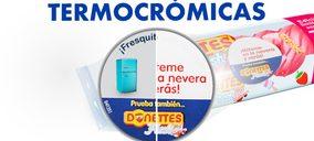 Tintas termocromáticas de Adco para impactar al consumidor de Donettes