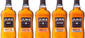 Whyte & Mackay presenta su renovada gama de whiskies Jura