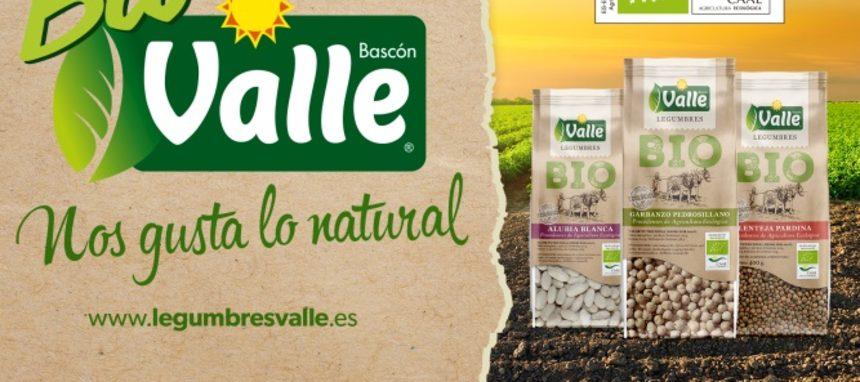 Valle Galbarro lanza una gama de legumbres ecológicas certificadas