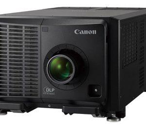 Canon debuta en el mercado de la proyección en grandes recintos