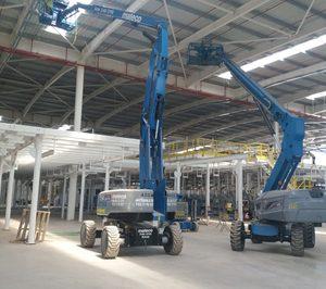 Mateco presenta sus máquinas de alquiler para instalaciones industriales