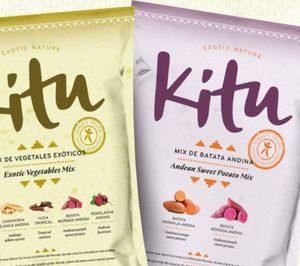 Kitu Snacks lleva su oferta de snacks vegetales a foodservice y vending