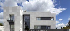 Ulma instala fachada ventilada de hormigón polímero en la sede de Unieléctrica