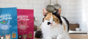 Edgard & Cooper entra en comida para gatos