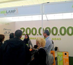 Ambilamp recoge para su reciclaje casi 5.000 t de residuos de iluminación