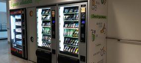 Serunion instala un espacio vending de productos saludables en el HUCA