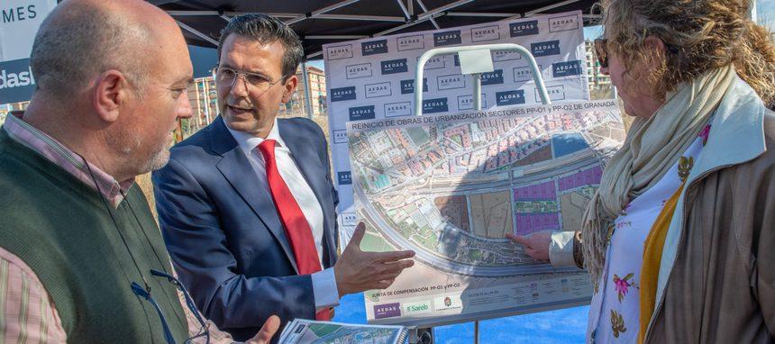 Aedas y Sareb impulsarán más de 1.700 nuevas viviendas en Granada