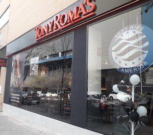 Tony Romas amplía presencia en Madrid