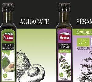 La Masía incorpora aceites de aguacate, lino y sésamo