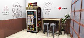 La comida ecológica llega al vending de la mano de Selecta