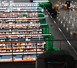 Así es la colmena desde la que Mercadona prepara a diario 800 pedidos online