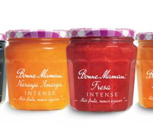 Bonne Maman lanza una gama de mermeladas con un 30% menos de azúcar