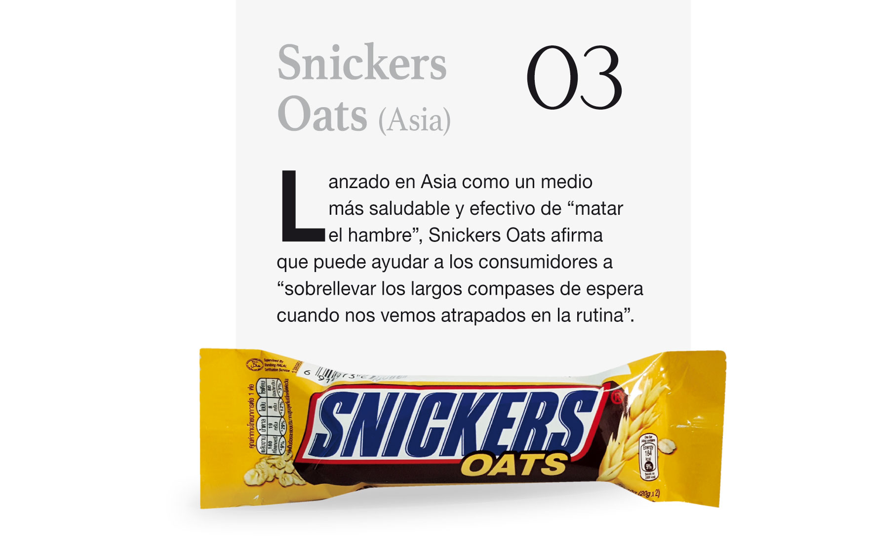 Snickers Oats (Asia)