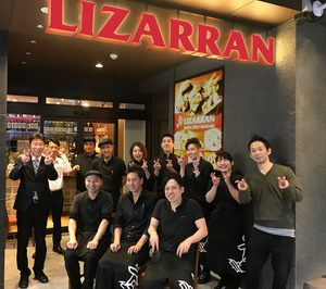 Lizarrán inaugura su tercer local en Japón
