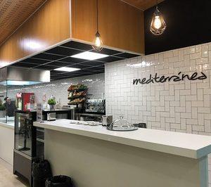 Mediterránea reabre la cafetería de personal del Clínico San Carlos y suma un contrato de alimentación