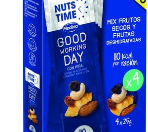 Aperitivos Medina posiciona el fruto seco como snack saludable