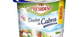 Président lanza los primeros dados de cabra para ensaladas