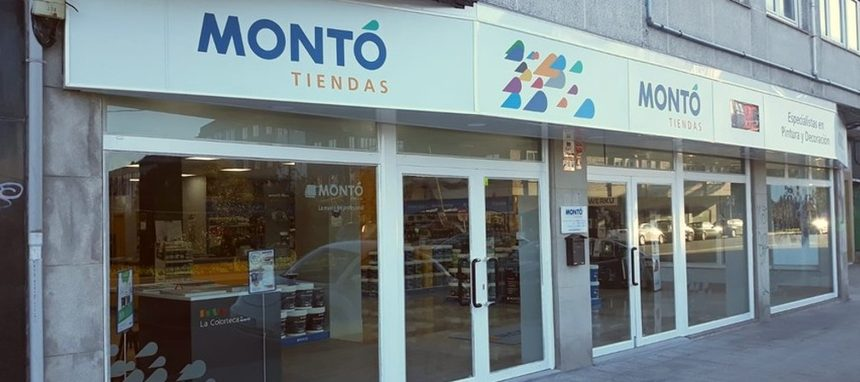 Pinturas Montó inaugura cuatro nuevas tiendas