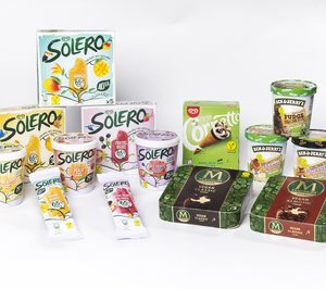 Unilever amplía sus referencias veggie en helados