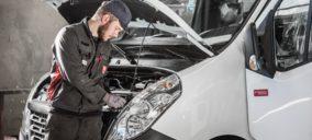 Los vehículos comerciales crecen en el primer trimestre del año pero los industriales caen