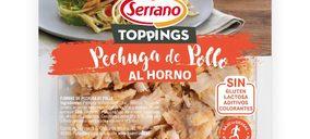Serrano lanza toppings de pavo y pollo