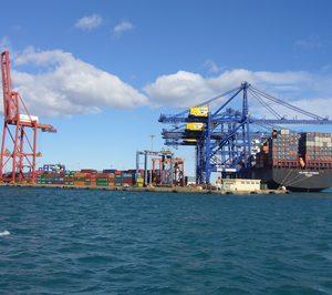El tráfico de mercancías portuario creció un 4,1% en los dos primeros meses del año