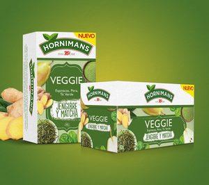 'Hornimans' combina tés con frutas, verduras y superalimentos