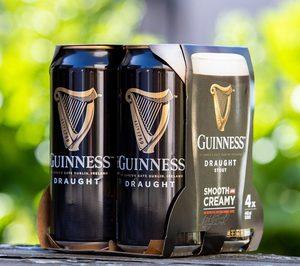 Guinness invierte para eliminar las anillas de plástico
