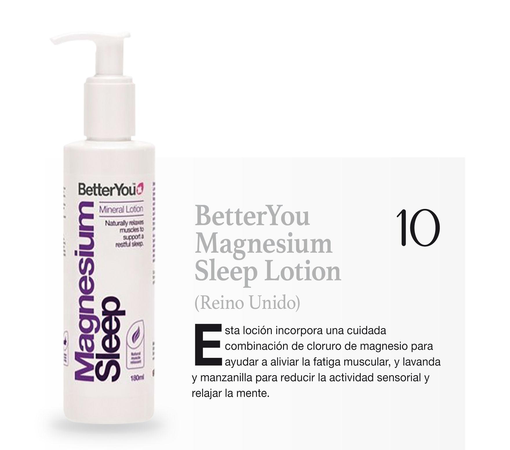 BetterYou Magnesium Sleep Lotion (Reino Unido)